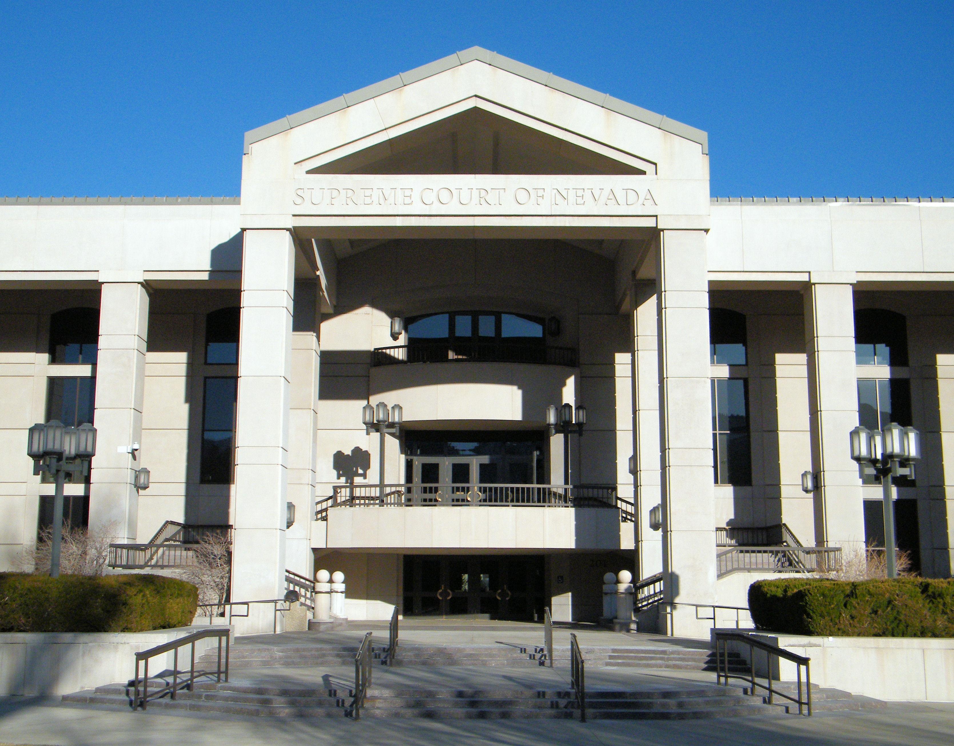 Supreme Court of Nevada building
