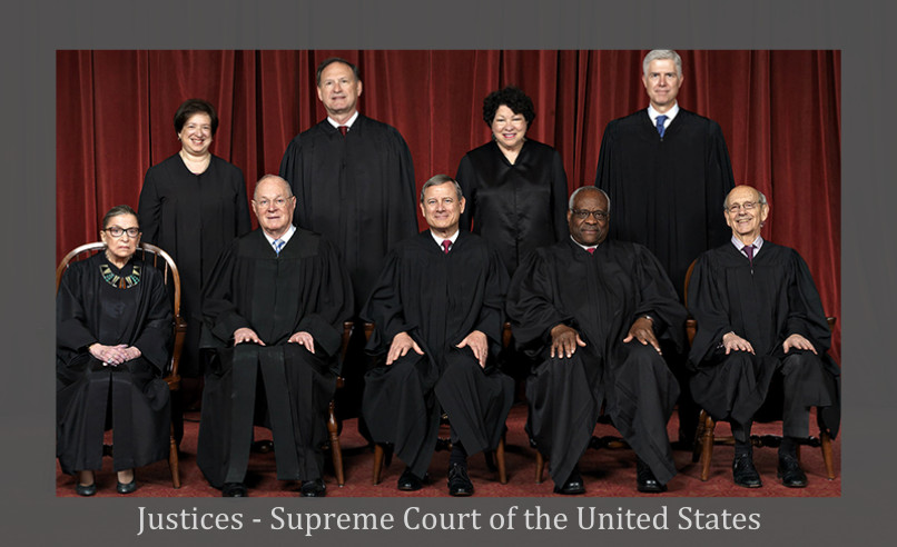 Supreme Court of the Unites States Justices