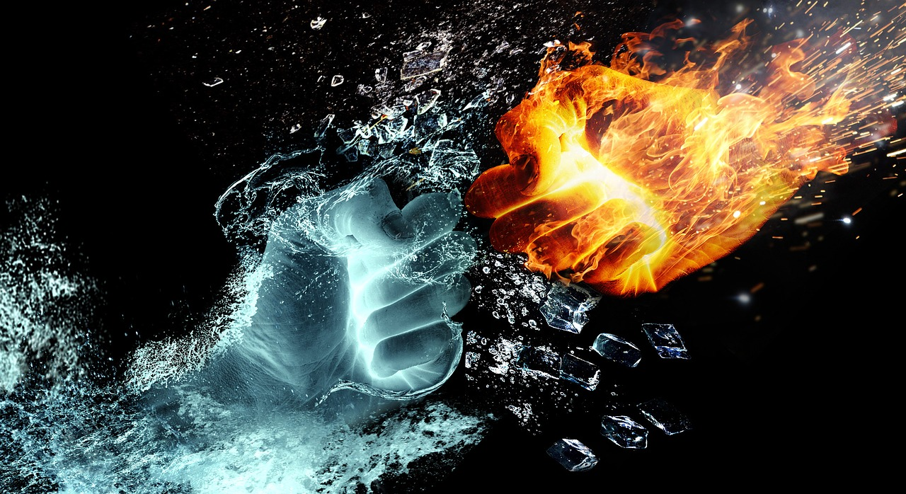 fist of water punching fist of flames