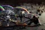 Trapped in a bubble