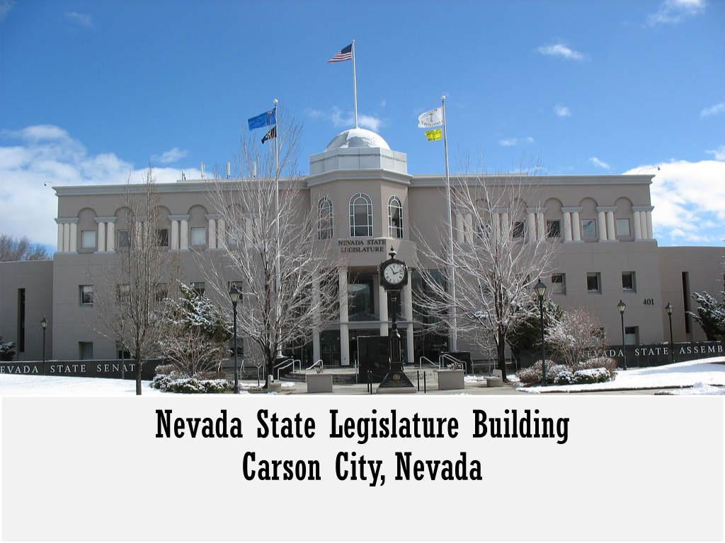 Nevada Legislature building Carson City