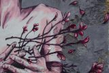 thorny floral and man