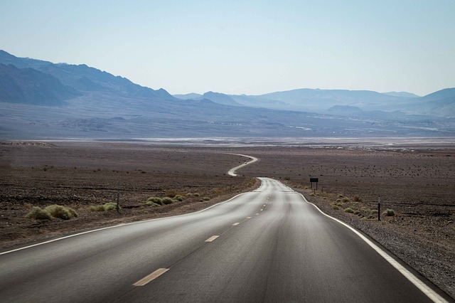 Lonely Nevada highway