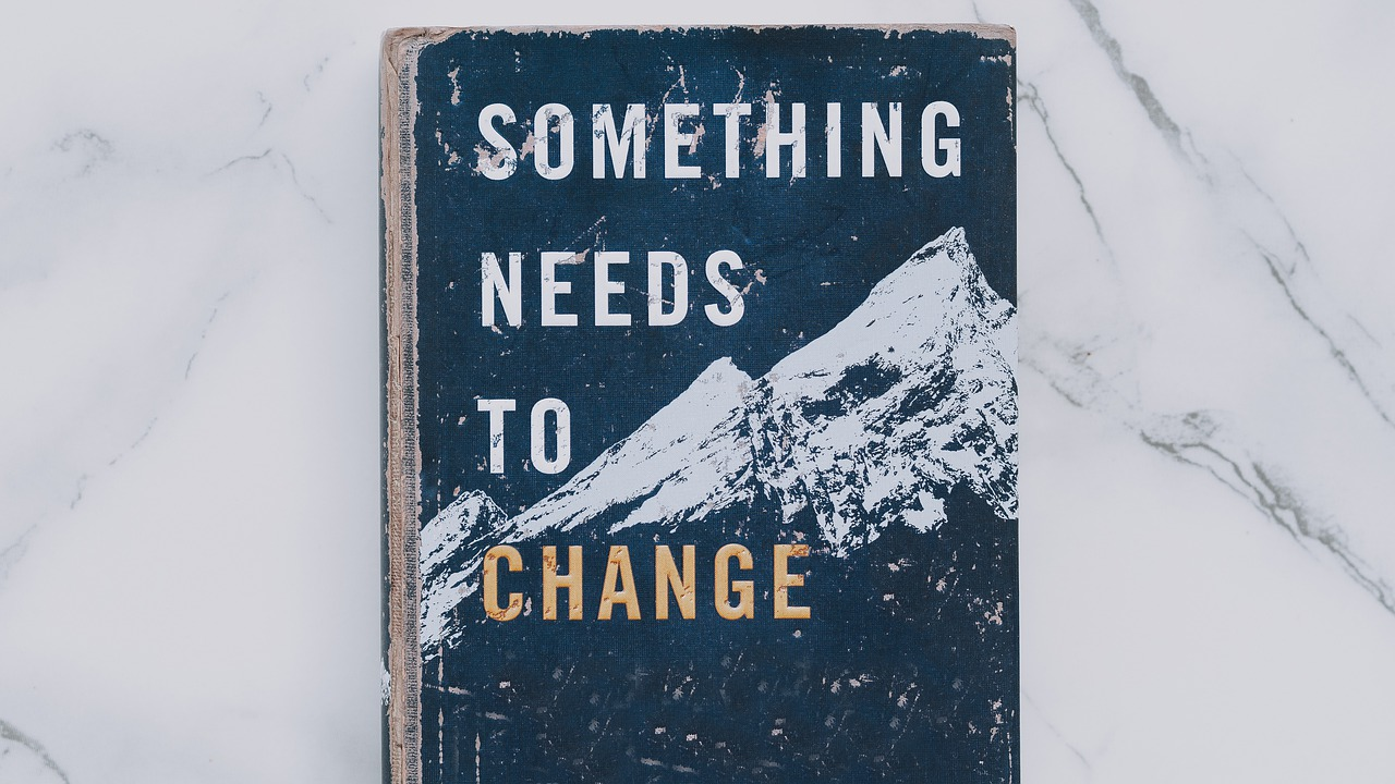 Something Needs To Change book jacket